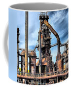 Steel Stacks Bethlehem Pa. Coffee Mug by DJ Florek
