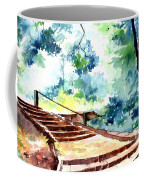 Steps To Eternity Coffee Mug by Anil Nene