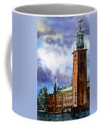 Stockholm Sweden Coffee Mug by Irina Sztukowski