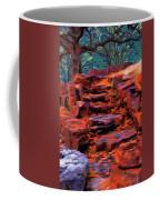 Stone Steps In Autumn Coffee Mug by Jeff Kolker