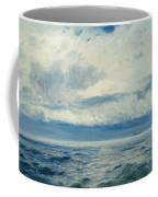 Storm Brewing Coffee Mug by Henry Moore