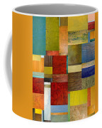 Strips And Pieces L Coffee Mug by Michelle Calkins
