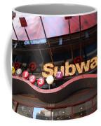 Subway Coffee Mug by Rob Hans