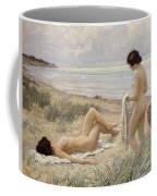 Summer On The Beach Coffee Mug by Paul Fischer