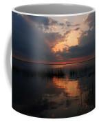 Sun Behind The Clouds Coffee Mug by Susanne Van Hulst