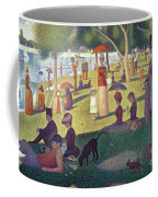 Sunday Afternoon On The Island Of La Grande Jatte Coffee Mug by Georges Pierre Seurat