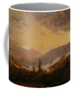 Sunset After A Storm In The Catskill Mountains Coffee Mug by Jasper Francis Cropsey
