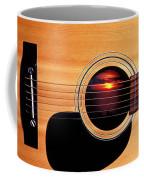 Sunset In Guitar Coffee Mug by Garry Gay