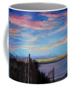 Sunset On Cape Cod Bay Coffee Mug by Jack Skinner