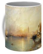 Sunset Venice Coffee Mug by Thomas Moran