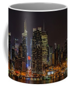 Super Moon Rising Coffee Mug by Susan Candelario