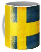 Swedish Flag Coffee Mug by Setsiri Silapasuwanchai
