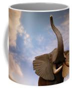 Talking Elephant Coffee Mug by Marilyn Hunt