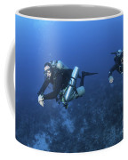 Technical Divers With Equipment Coffee Mug by Karen Doody