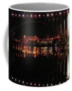 Tennessee River In Lights Coffee Mug by Douglas Stucky
