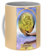 The Ace Of Coins Coffee Mug by John Edwards