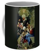 The Adoration Of The Kings Coffee Mug by Fray Juan Batista Maino