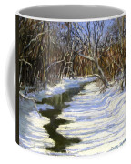 The Assabet River In Winter Coffee Mug by Jack Skinner