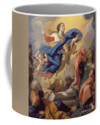 The Assumption Of The Virgin Coffee Mug by Guillaume Courtois