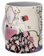 The Backless Dress Coffee Mug by Georges Barbier