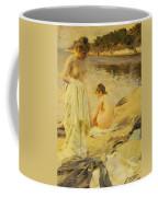 The Bathers Coffee Mug by Anders Leonard Zorn