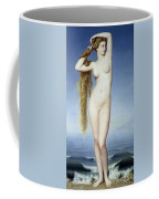 The Birth Of Venus Coffee Mug by Eugene Emmanuel Amaury Duval