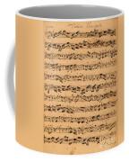 The Brandenburger Concertos Coffee Mug by Johann Sebastian Bach