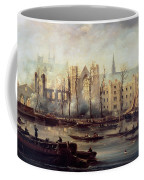 The Burning Of The Houses Of Parliament Coffee Mug by The Burning of the Houses of Parliament