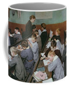 The Children's Class Coffee Mug by Henri Jules Jean Geoffroy