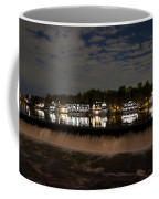 The Colorful Lights Of Boathouse Row Coffee Mug by Bill Cannon