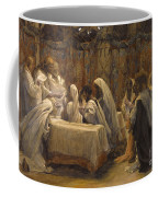 The Communion Of The Apostles Coffee Mug by Tissot