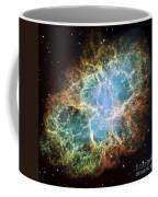 The Crab Nebula Coffee Mug by Stocktrek Images