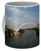 The Cumberland River In Nashville Coffee Mug by Susanne Van Hulst