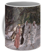 The Disciples On The Road To Emmaus Coffee Mug by Tissot