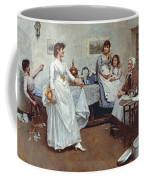 The Dress Rehearsal Coffee Mug by Albert Chevallier Tayler