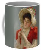 The Engagement Ring Coffee Mug by John Shirley Fox