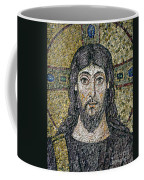 The Face Of Christ Coffee Mug by Byzantine School