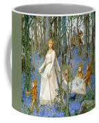 The Fairy Wood Coffee Mug by Henry Meynell Rheam