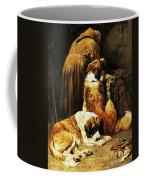 The Faith Of Saint Bernard Coffee Mug by John Emms