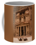 The Famous Treasury With Two Camels Coffee Mug by Taylor S. Kennedy