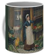 The Fruit Seller Coffee Mug by Victor Gabriel Gilbert