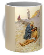 The Good Samaritan Coffee Mug by William Henry Margetson