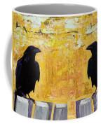 The Gossips Coffee Mug by Pat Saunders-White