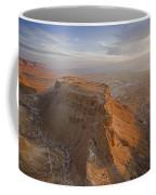 The Great Refuge Of Masada Looms Coffee Mug by Michael Melford