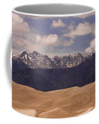 The Great Sand Dunes Panorama 1 Coffee Mug by James BO  Insogna