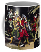 The Gunpowder Plot Coffee Mug by Ron Embleton