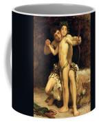 The Hit Coffee Mug by Frederic Leighton