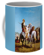The Horse Of Submission Coffee Mug by Louis Eugene Ginain
