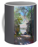 The House By The River Coffee Mug by Ylli Haruni