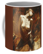The Incinerating Passion Coffee Mug by Sergey Ignatenko